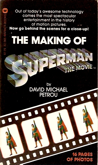 Making of Superman Front Cover