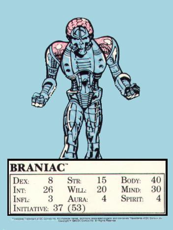 Mayfair Brainiac Card