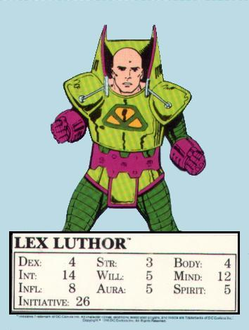 Lex Luthor Mayfar Card