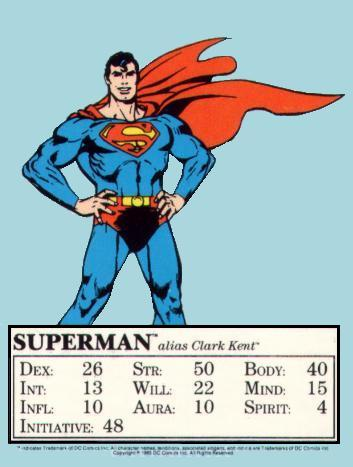 Superman Mayfair Card 1