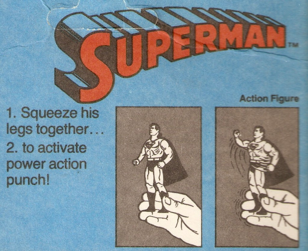 Super Powers- Superman Instructions