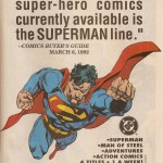 Ad- Superman Books 1992