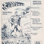 Ad- Comics Values Monthly Superman