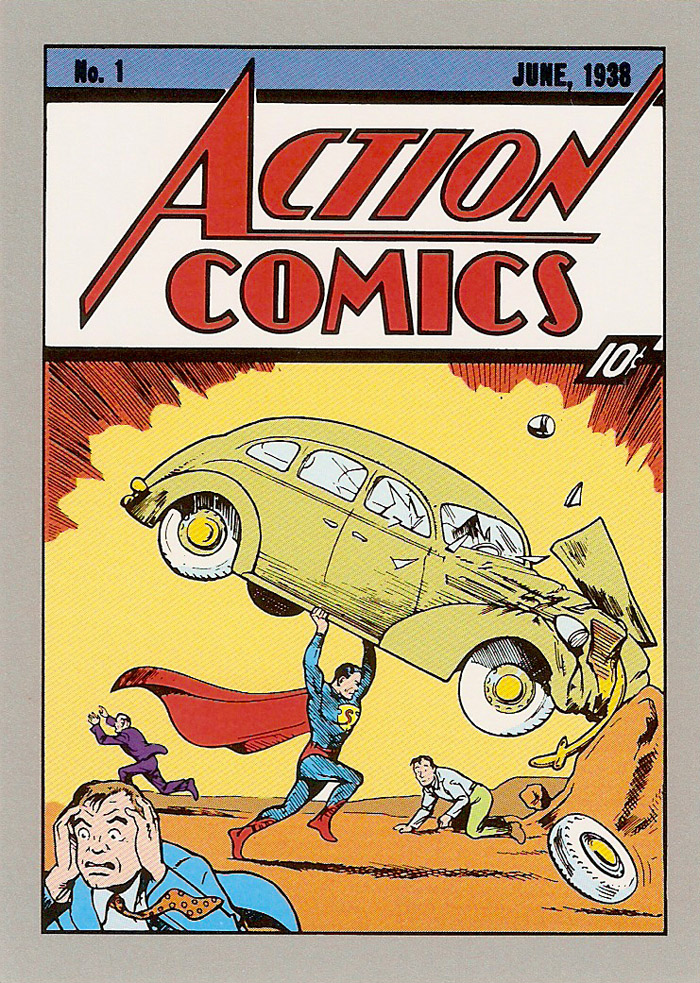 Cosmic Cards Action Comics A