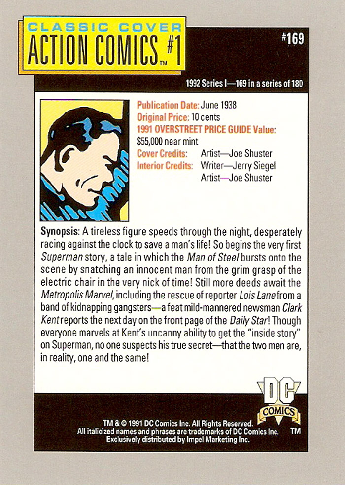 Cosmic Cards Action Comics B