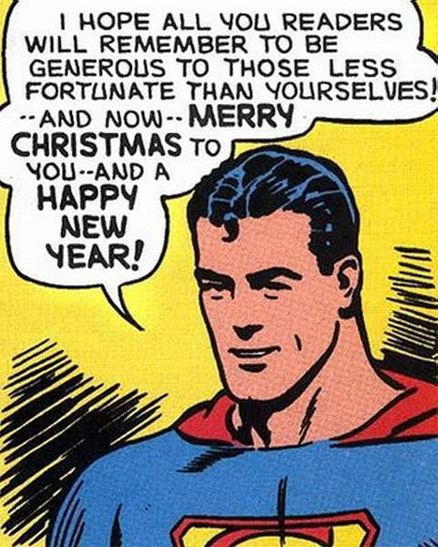Superman Christmas Message
