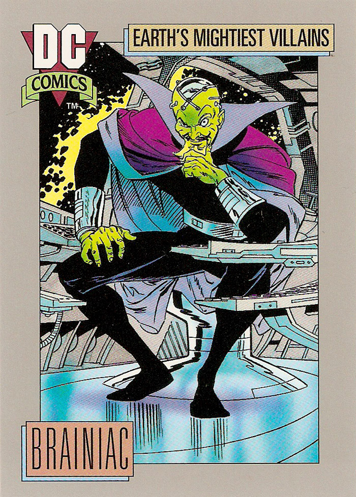 Cosmic Cards Brainiac A