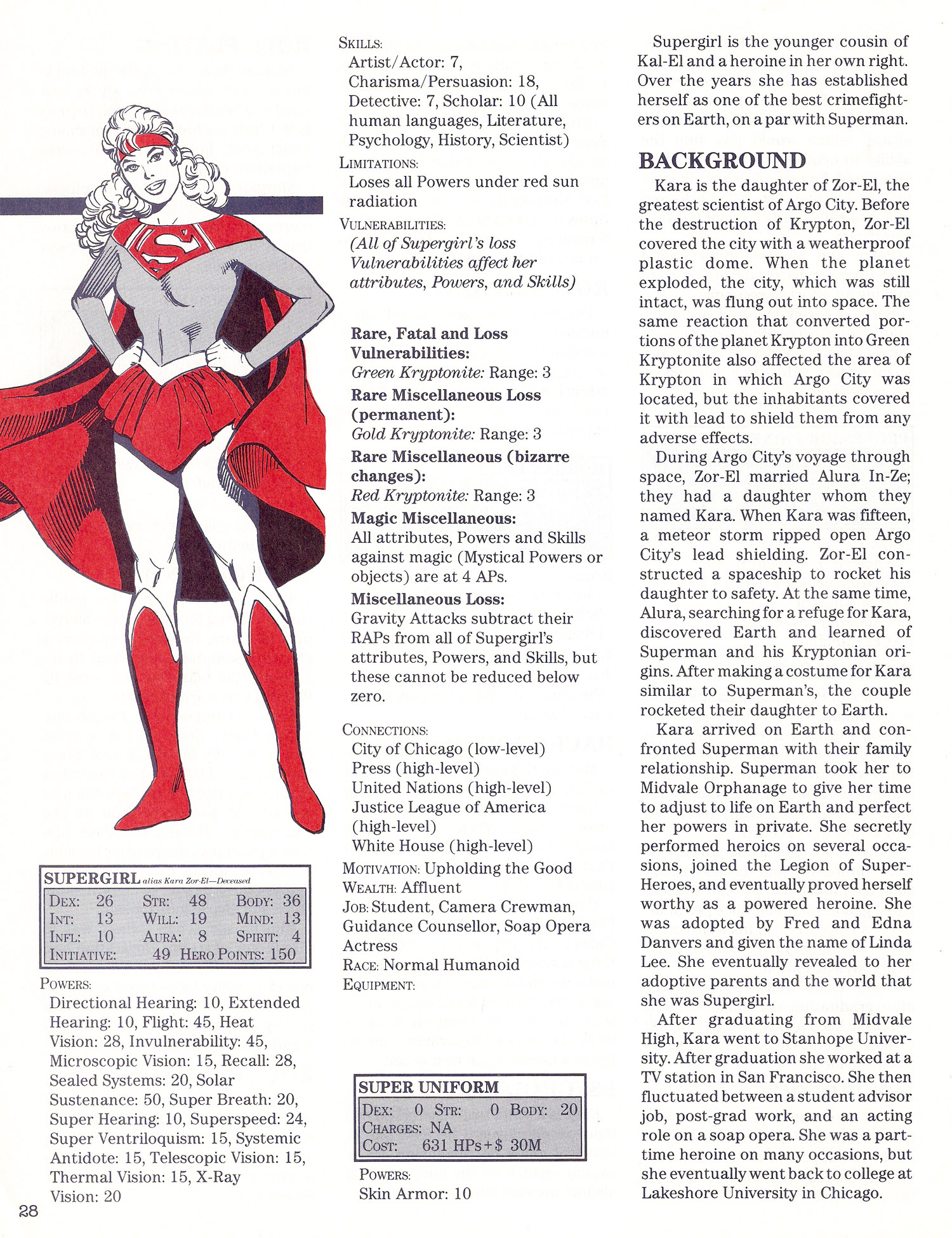 Mayfair- Supergirl A
