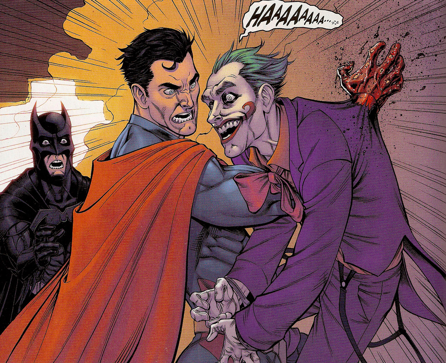 Superman Ends Joker