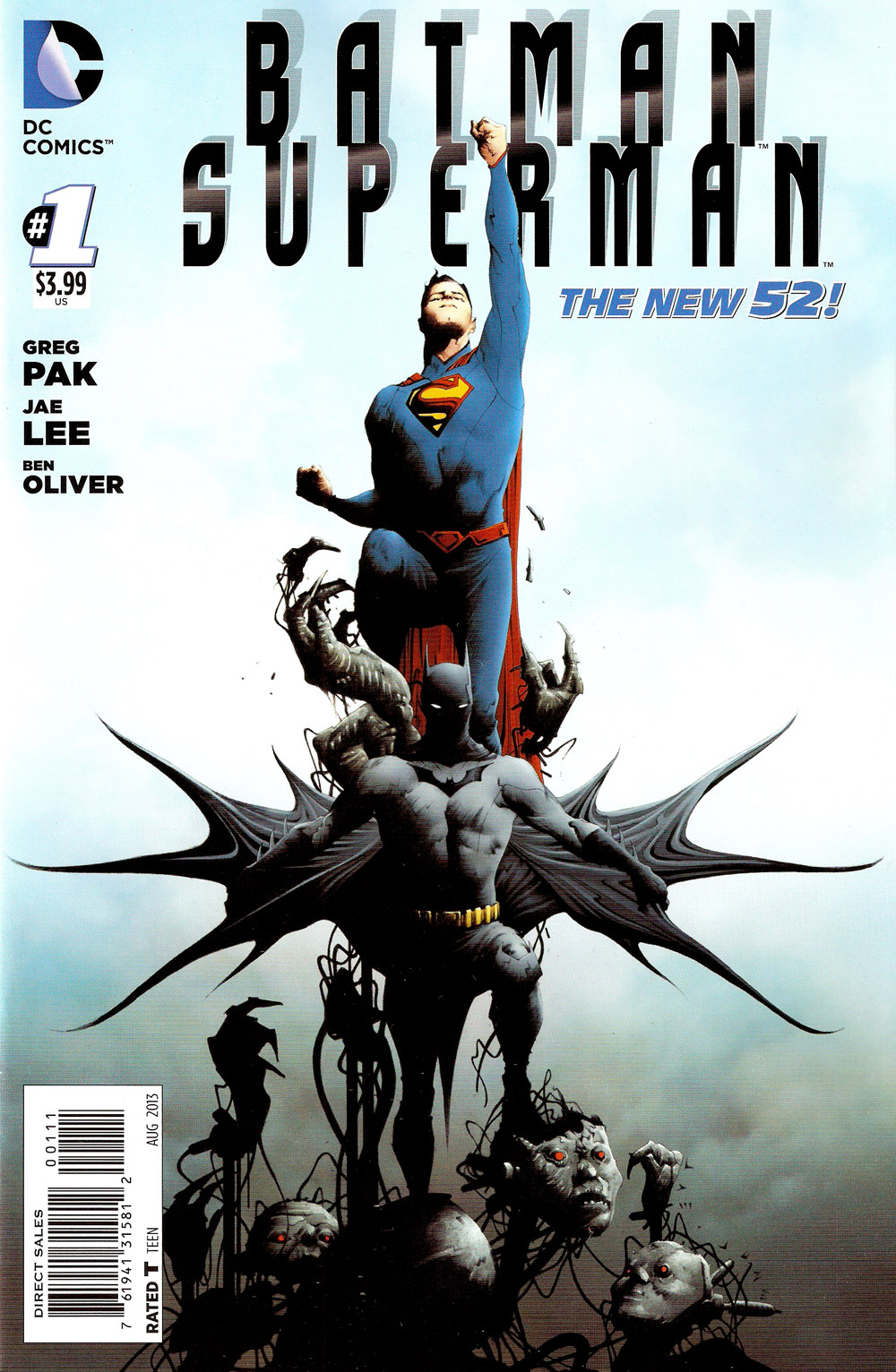 Batman Superman (2013) #001