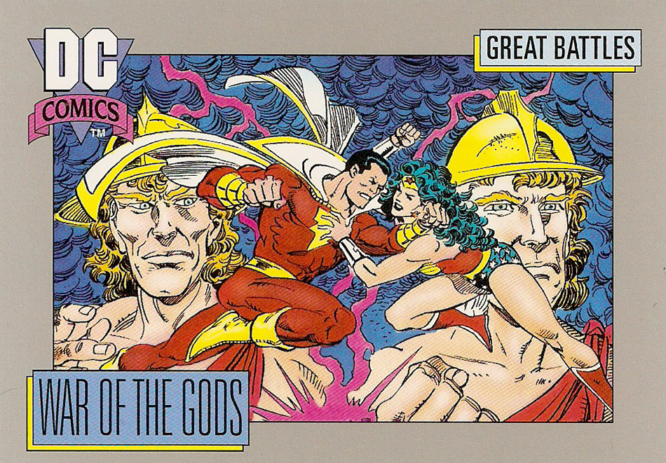 Cosmic Cards War of the Gods A