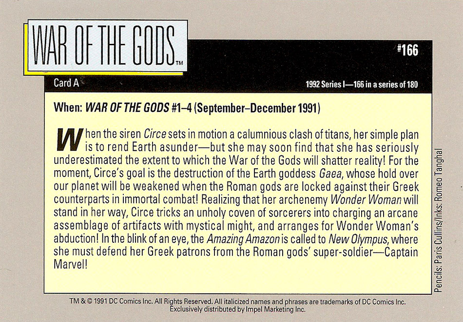 Cosmic Cards War of the Gods B