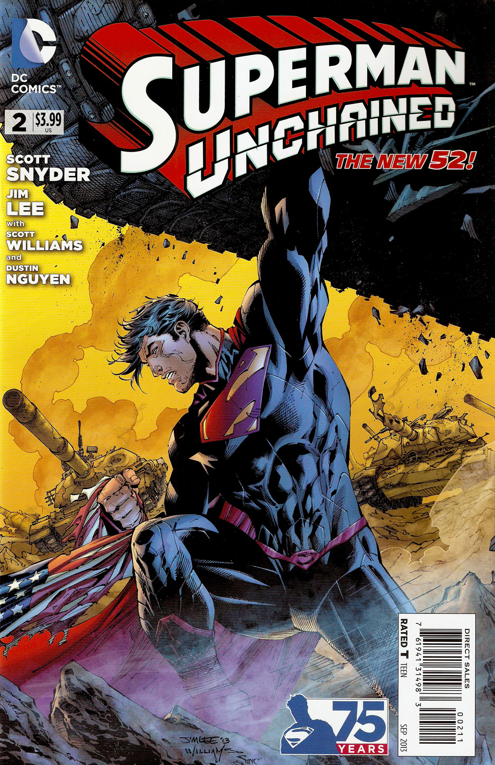 Superman Unchained #002