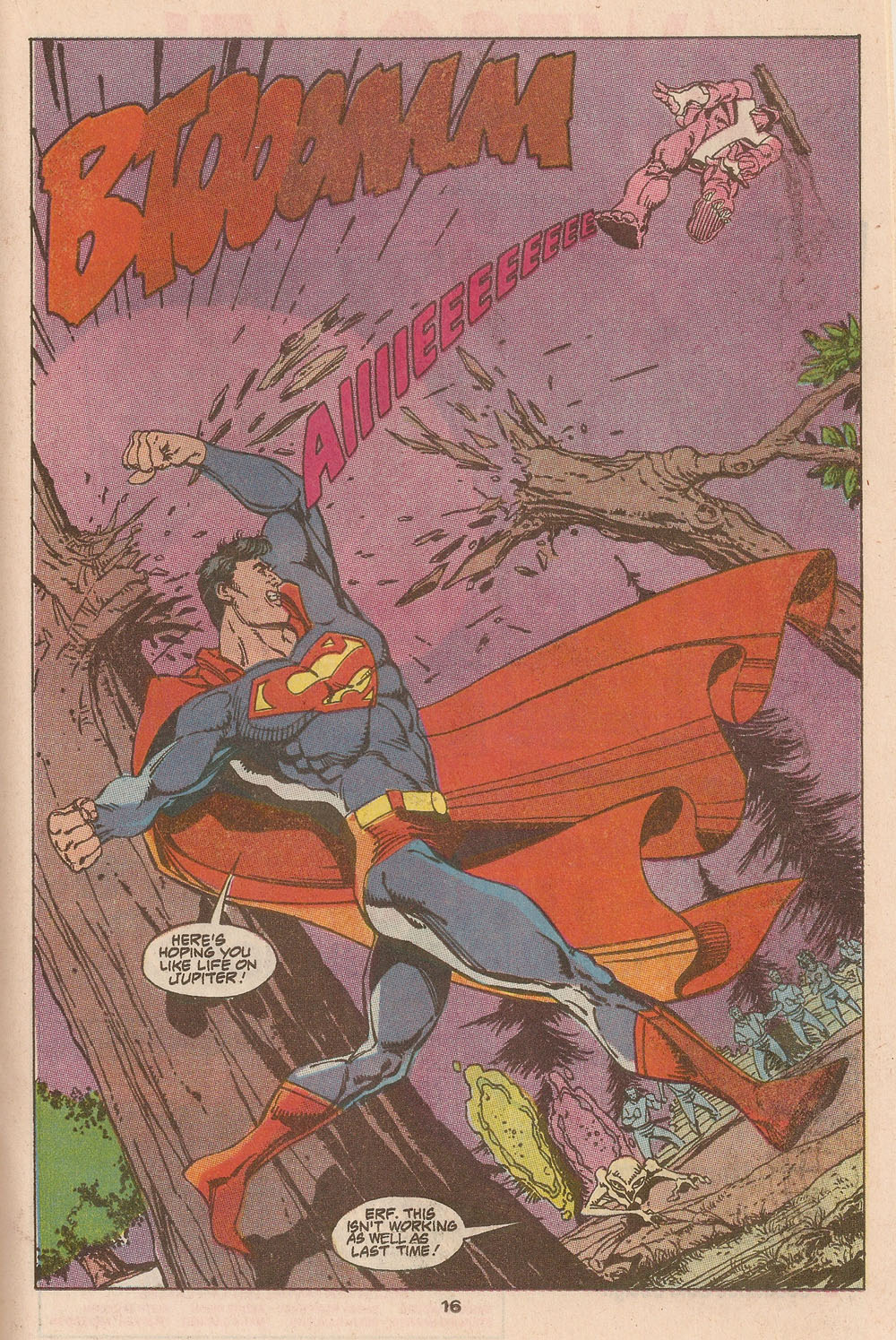 1990-08- Adv of Superman Page