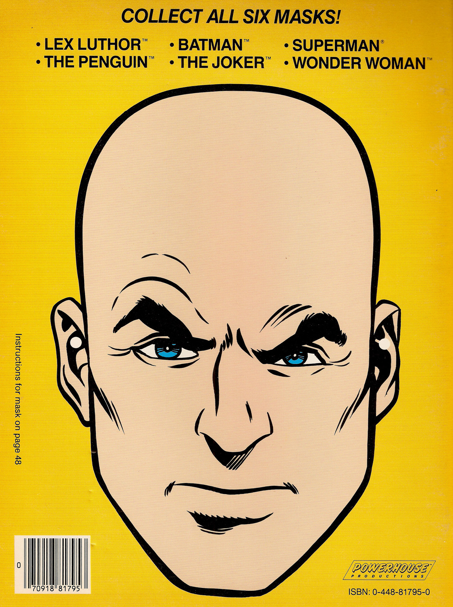 Super Powers Coloring Book Lex B