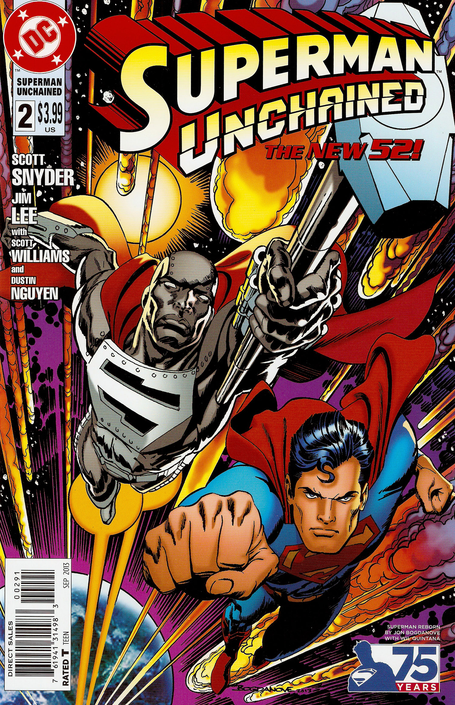 Superman Unchained #02- Bogdanove