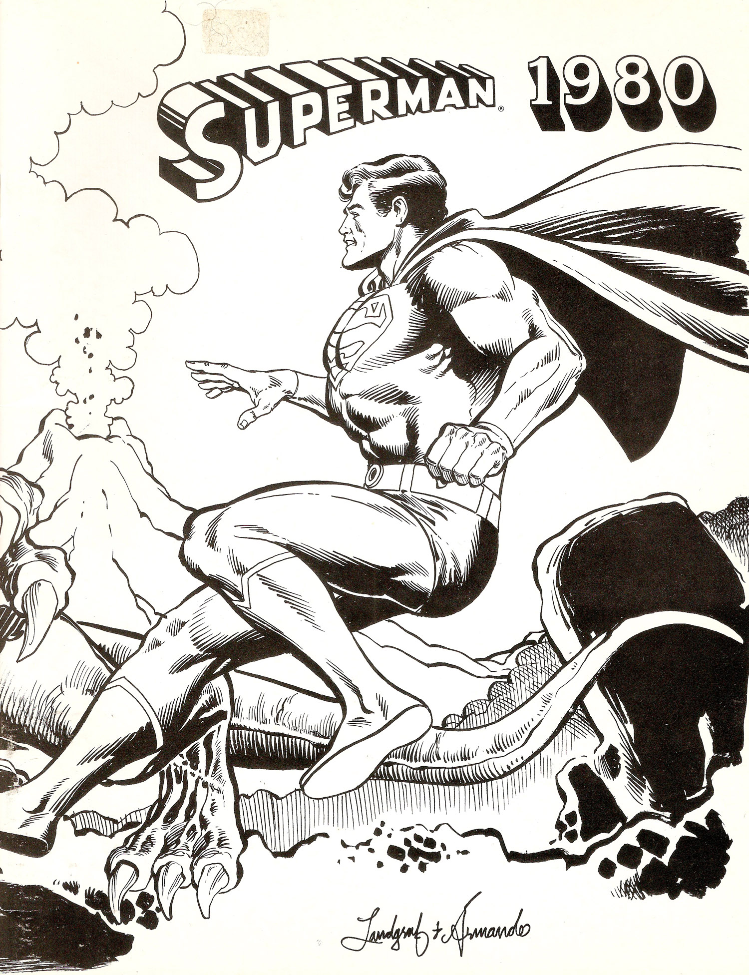 Superman 1980 Cover A