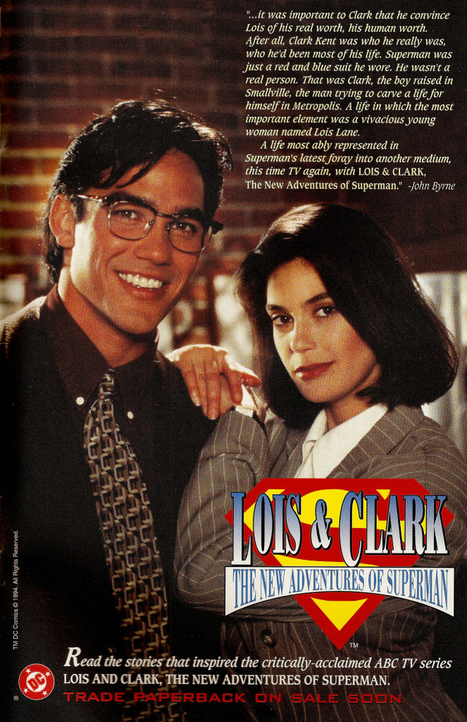 Ad- 1994 Lois and Clark Trade