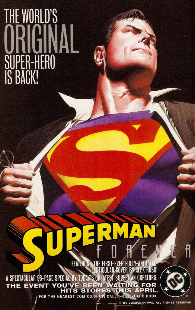 Ad- 1998 Superman Forever