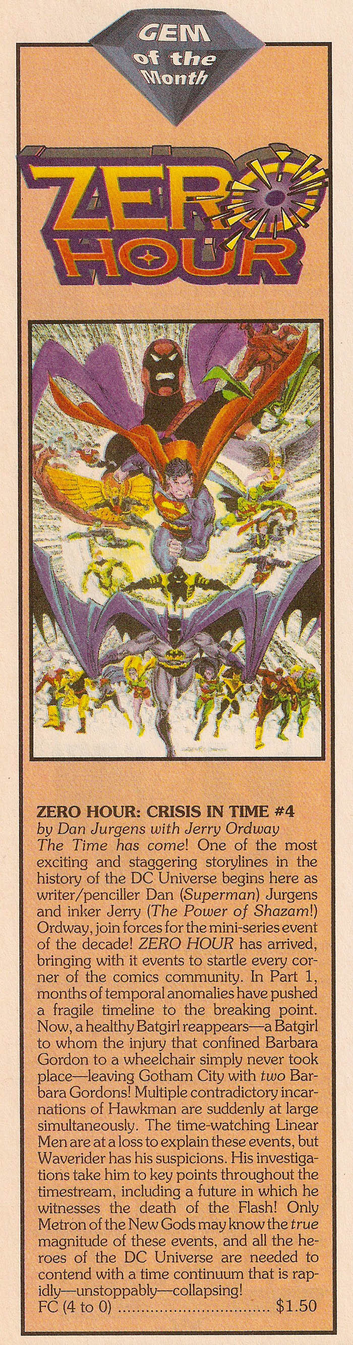 Solicitation 1- Zero Hour #4