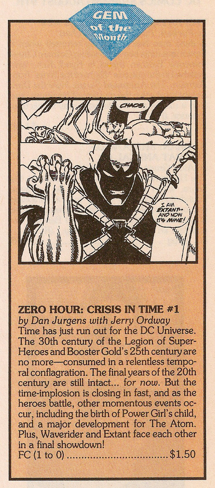 Solicitation 4- Zero Hour #1