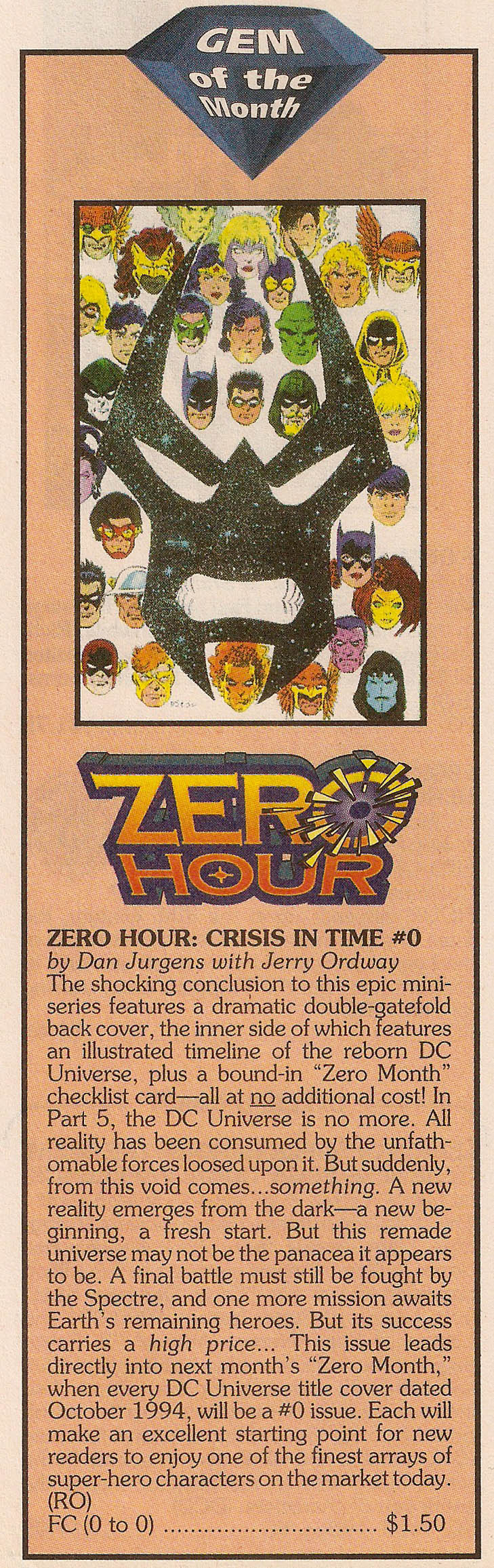 Solicitation 5- Zero Hour #0