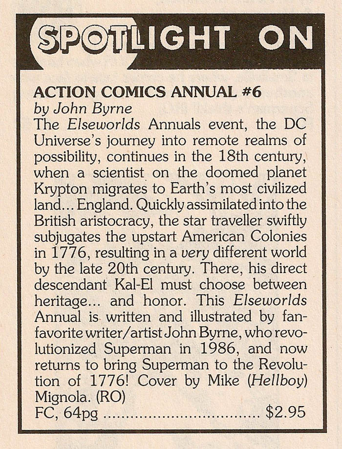 Solicitation- Action Comics Annual #6