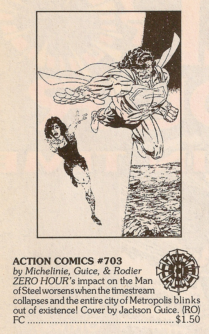 Solicitation- Zero Hour Action Comics