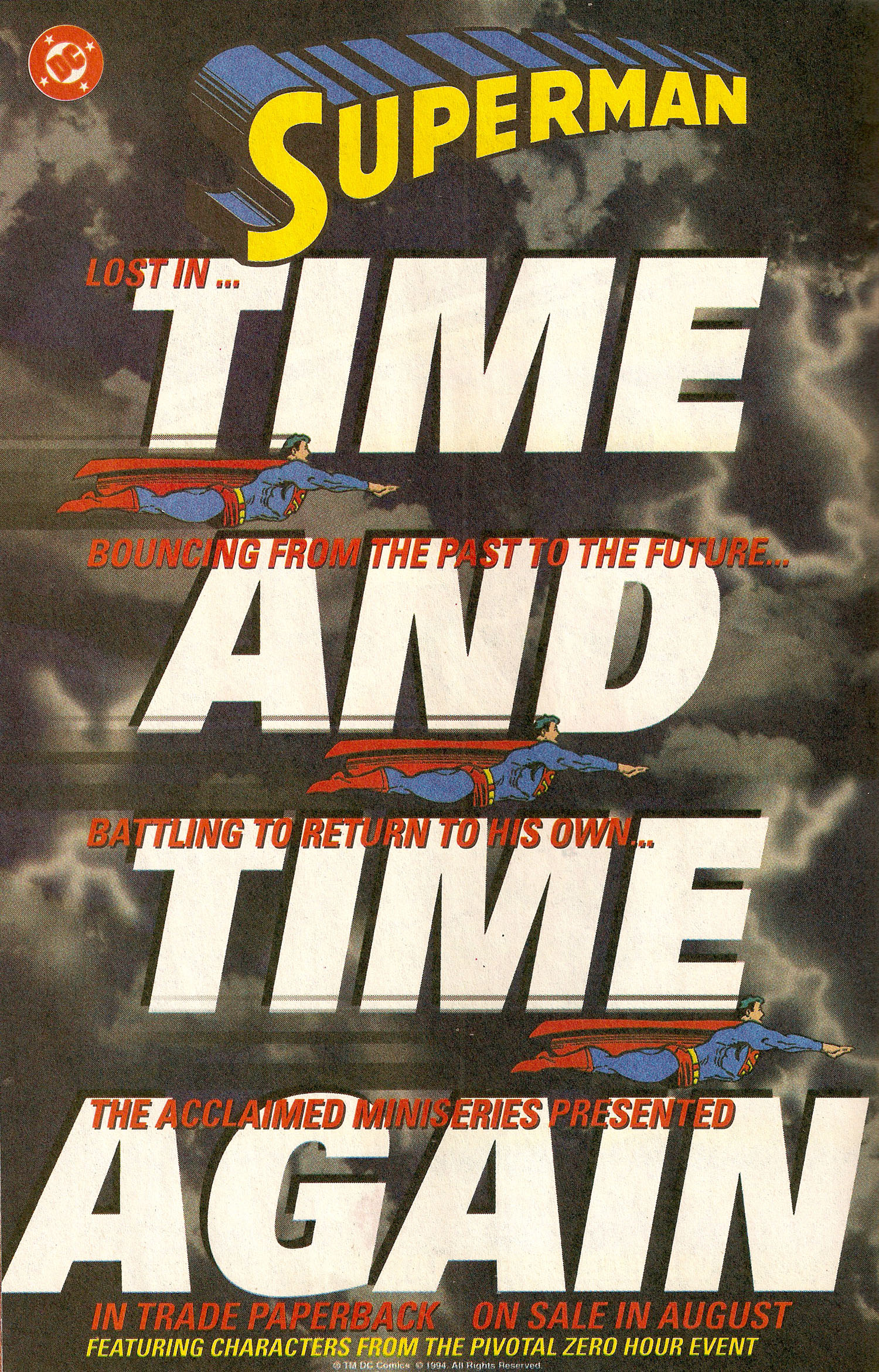 Ad- 1994 Time and Time Again TPB