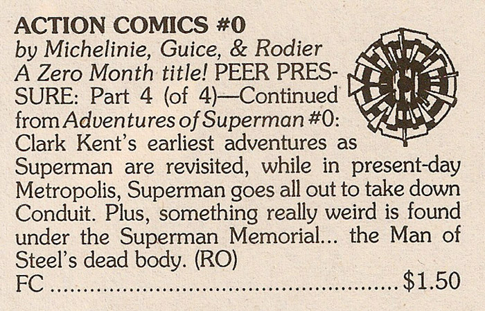 ZM Solicits - Action Comics #0