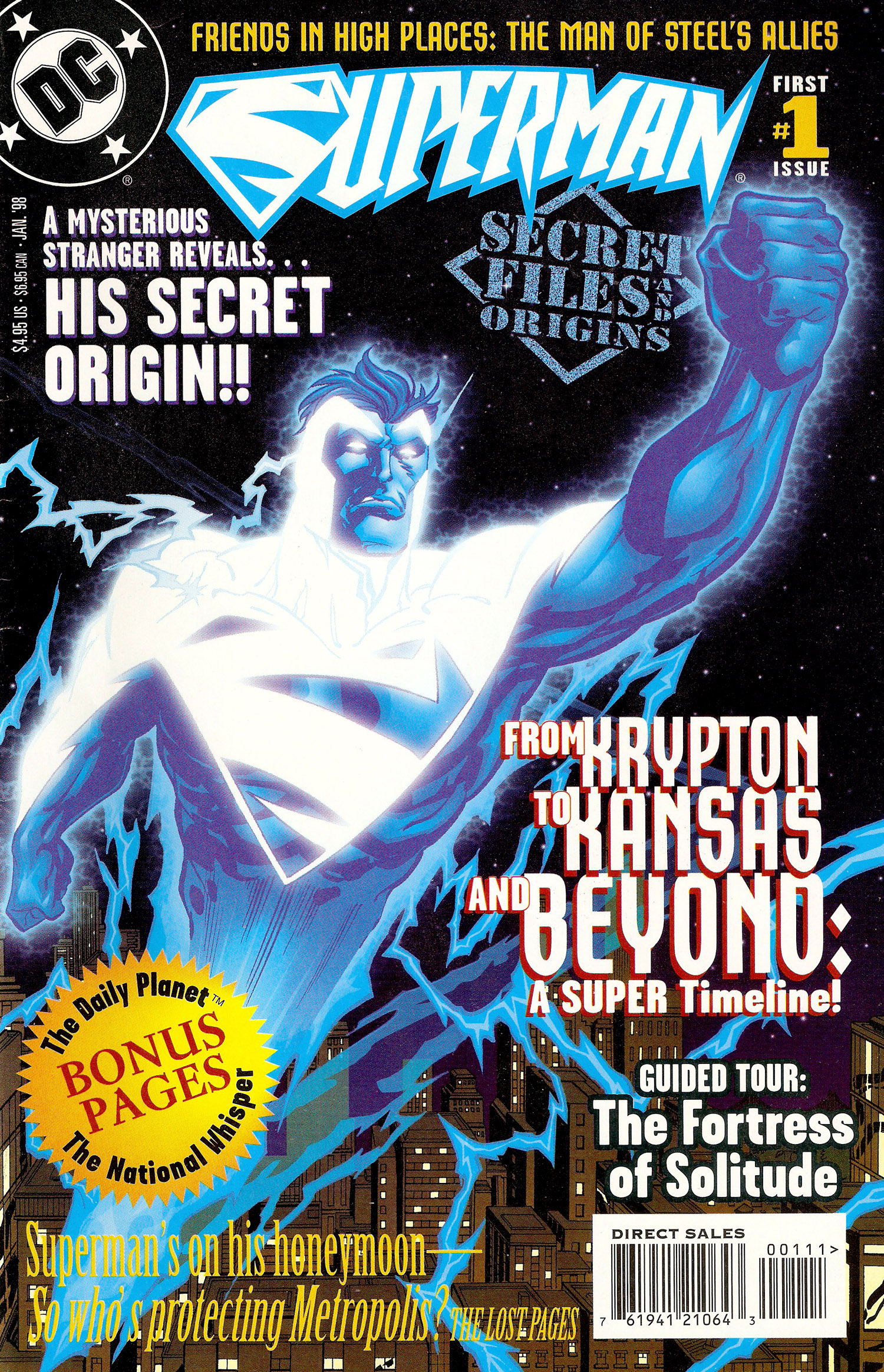 Secret Files 1998 - 00 Cover