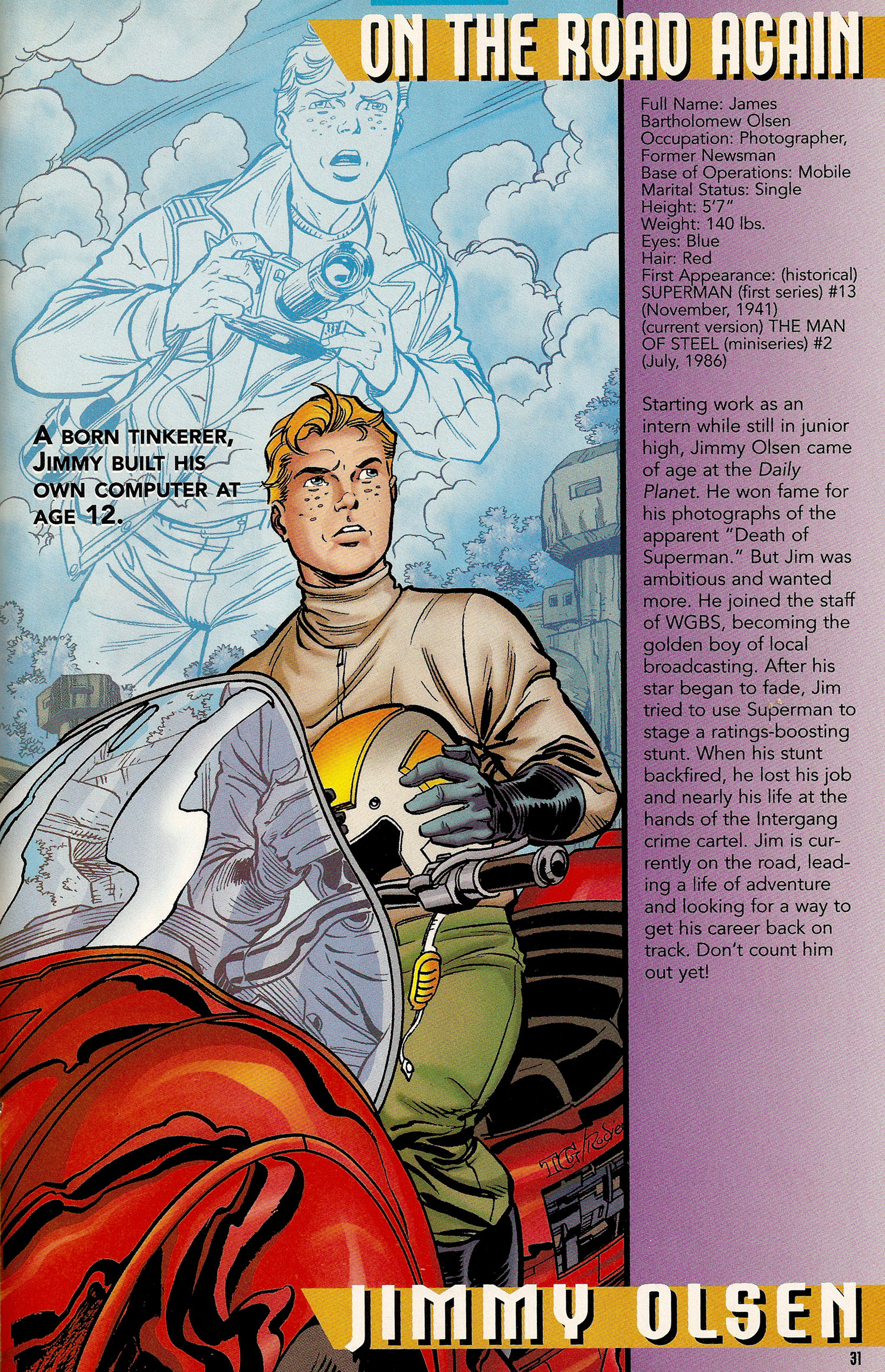 Secret Files 1998 - 04 Jimmy Olsen