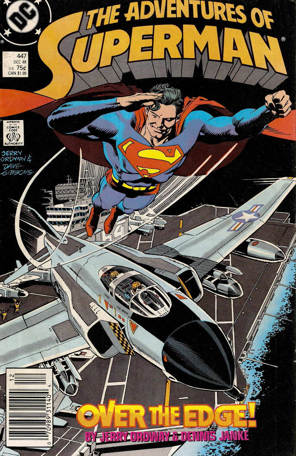 Adventures of Superman #447